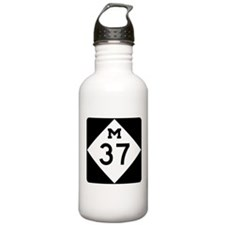 Highway M-37 Water Bottle