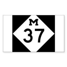 Highway M-37 Decal
