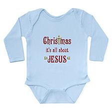 Christmas Doves Long Sleeve Infant Bodysuit