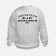 Munchkin Cat Designs Sweatshirt