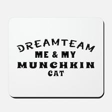 Munchkin Cat Designs Mousepad