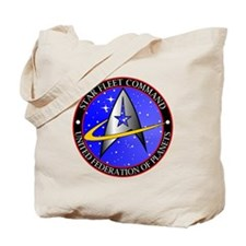 Star Fleet Command Tote Bag