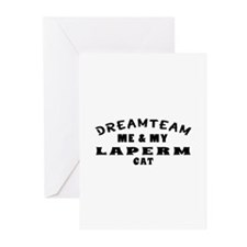 Laperm Cat Designs Greeting Cards (Pk of 20)