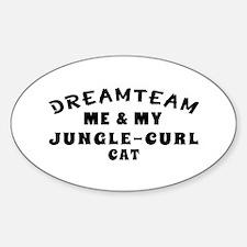Jungle-curl Cat Designs Decal