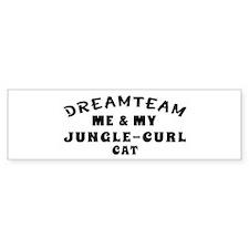 Jungle-curl Cat Designs Bumper Sticker