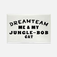 Jungle-bob Cat Designs Rectangle Magnet