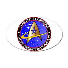 Star Fleet Command Wall Decal
