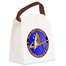 Star Fleet Command Canvas Lunch Bag