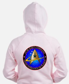 Star Fleet Command Zip Hoodie