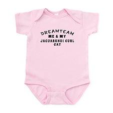 Jaguarundi curl Cat Designs Infant Bodysuit