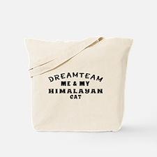 Himalayan Cat Designs Tote Bag