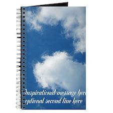 inspirational clouds poster Journal