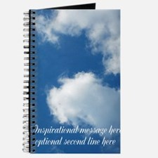 inspirational clouds poster Journal