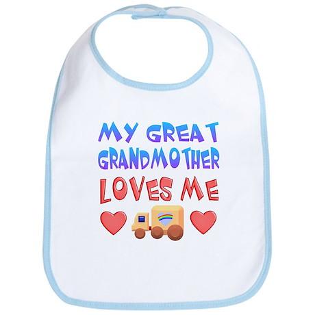 "Baby-Boy ""Great Grandmother"" Bib"