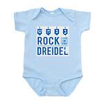 Rock the Dreidel - Jewish Baby Infant Bodysuit