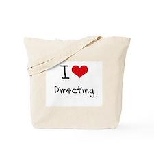 I Love Directing Tote Bag