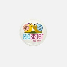 Add Name Big Sister Mini Button (10 pack)