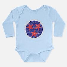 Tennessee America Long Sleeve Infant Bodysuit