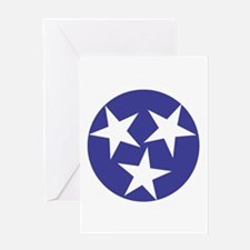 Tennessee Stars Greeting Card