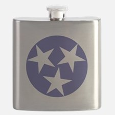 Tennessee Stars Flask