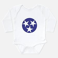 Tennessee Stars Long Sleeve Infant Bodysuit