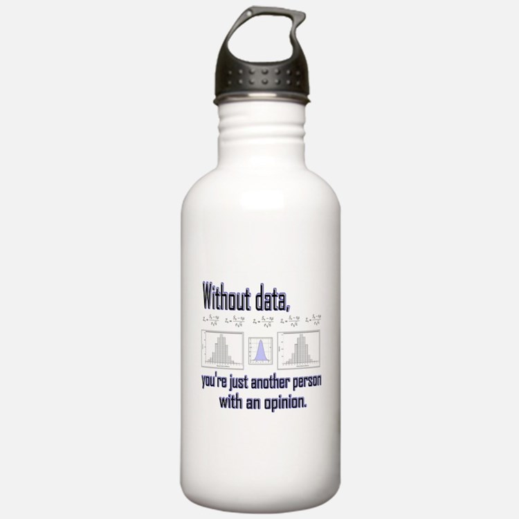 Cute Six sigma Water Bottle