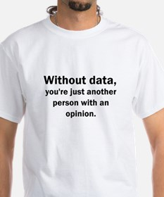 Without Data-Text Only Shirt