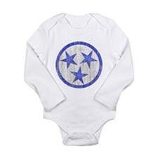 Aged Tennessee Long Sleeve Infant Bodysuit