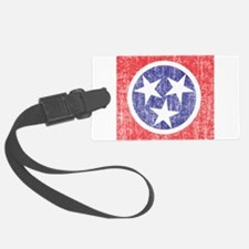 Faded Tennessee Flag Luggage Tag