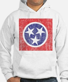 Faded Tennessee Flag Hoodie