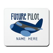 Add Name Future Pilot Mousepad