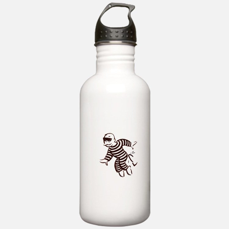 get out of jail now Water Bottle