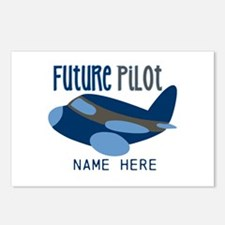Add Name Future Pilot Postcards (Package of 8)
