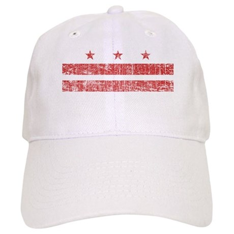 Aged Washington D.C. Flag Cap