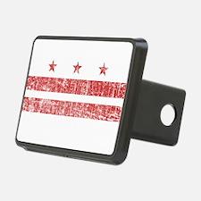 Aged Washington D.C. Flag Hitch Cover