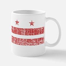 Aged Washington D.C. Flag Mug