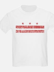 Aged Washington D.C. Flag T-Shirt