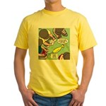 Rubber Chicken First Aid Yellow T-Shirt