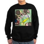 Rubber Chicken First Aid Sweatshirt (dark)