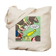 Rubber Chicken First Aid Tote Bag