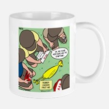 Rubber Chicken First Aid Mug
