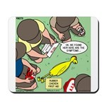 Rubber Chicken First Aid Mousepad