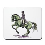 Dressage horse Mouse Pads