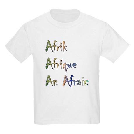 Afrogoodies Kids T-Shirt