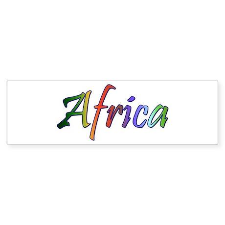 Afrogoodies Bumper Sticker