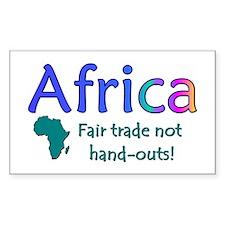 Afrogoodies Rectangle Decal