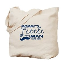 Custom Mommy's Little Man Tote Bag