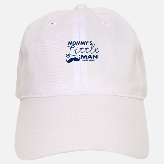 Custom Mommy's Little Man Cap