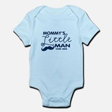 Custom Mommy's Little Man Infant Bodysuit
