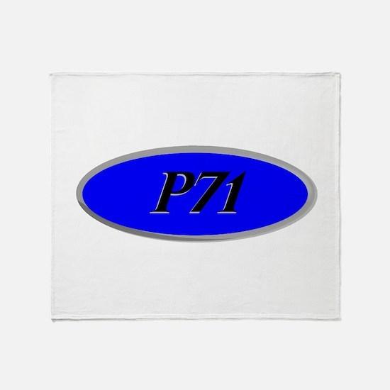 P71 Throw Blanket